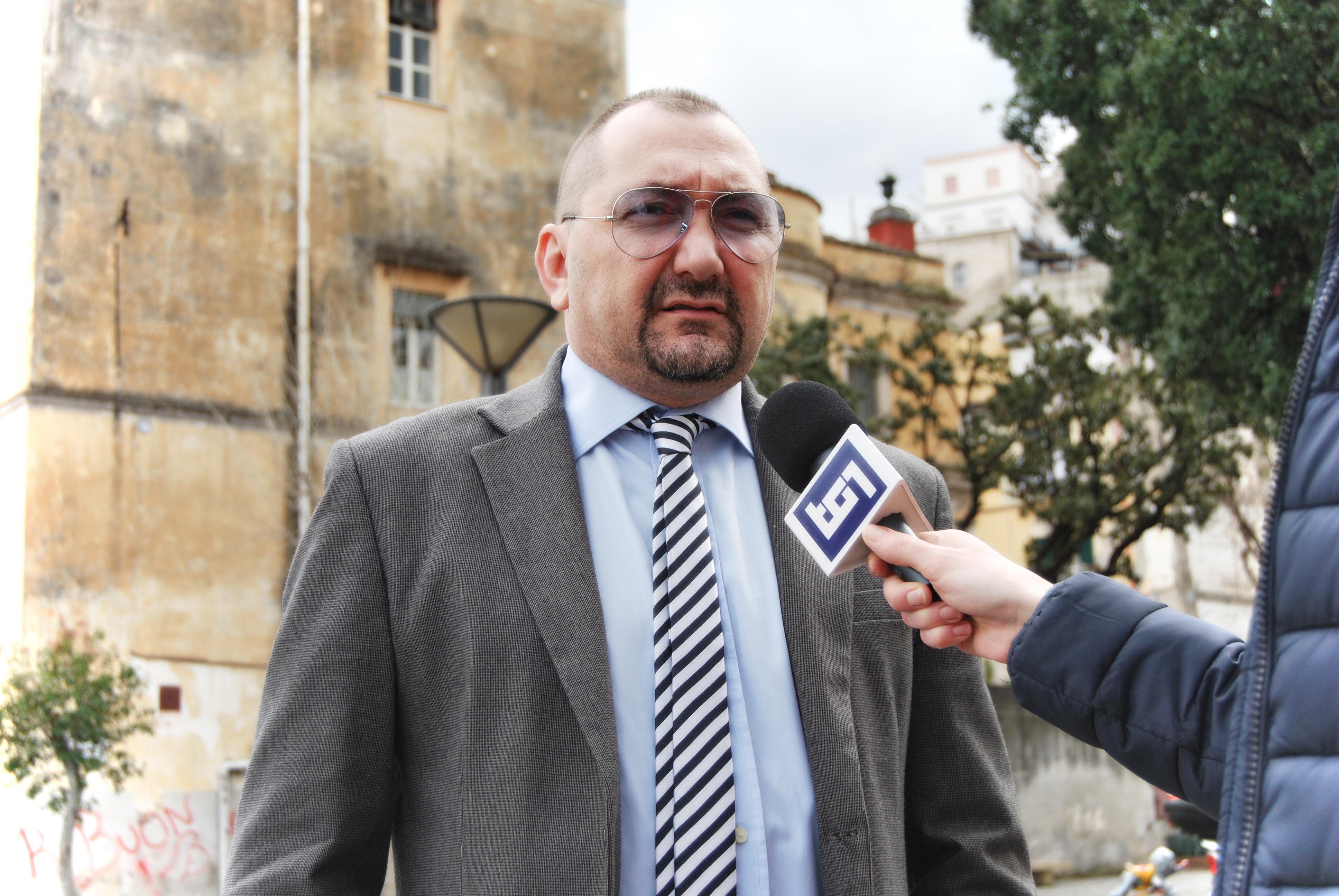 L'avvocato Alexandro Maria Tirelli intervistato al TG1 RAI