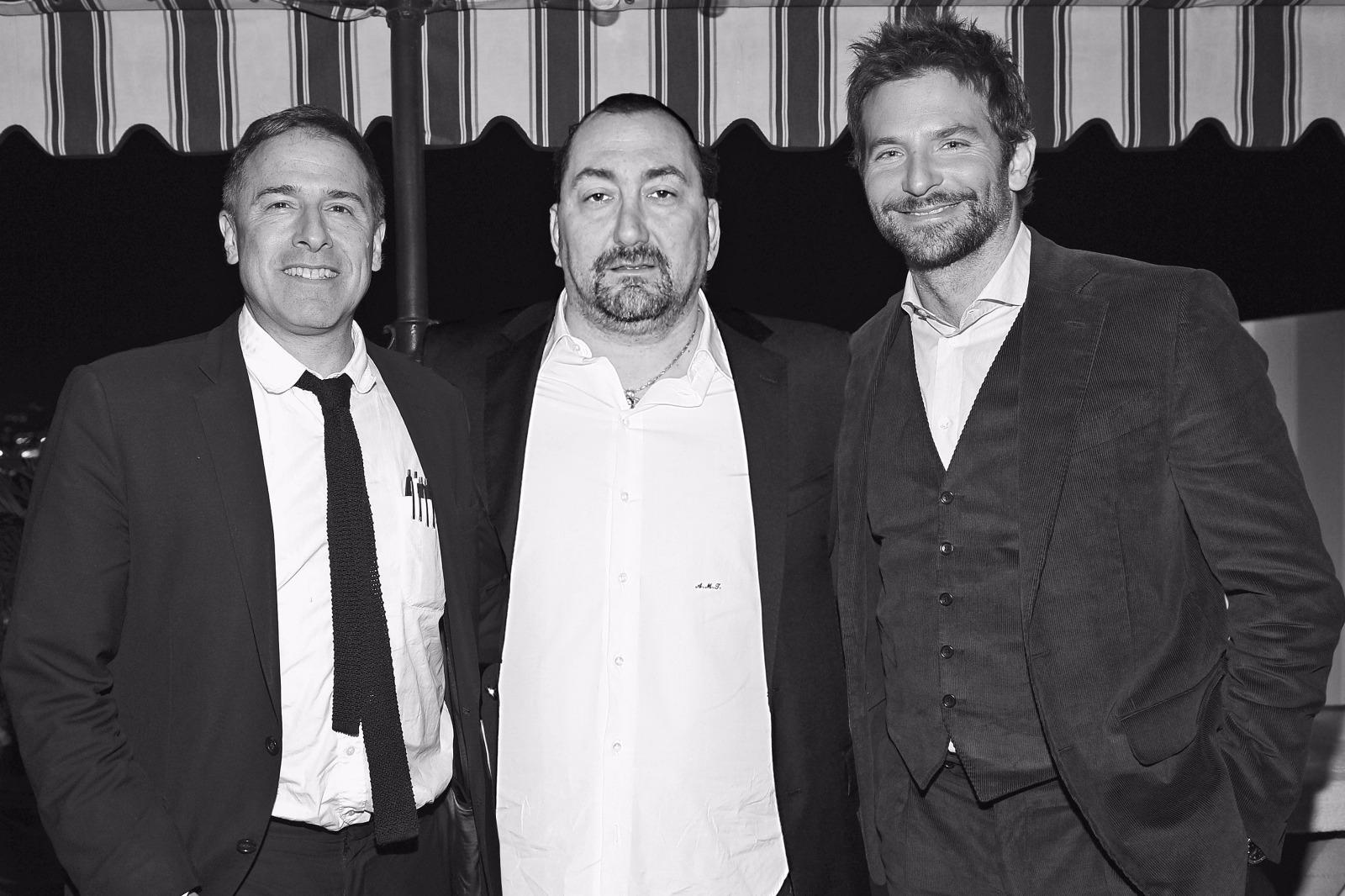 L'avvocato Alexandro Maria Tirelli con Bradley Cooper