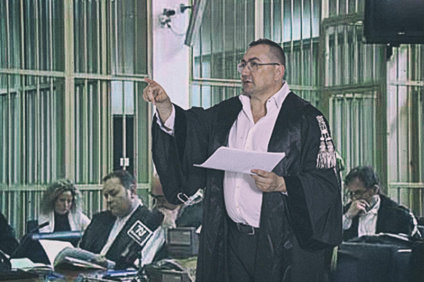 avvocato alexandro maria tirelli in dibattimento