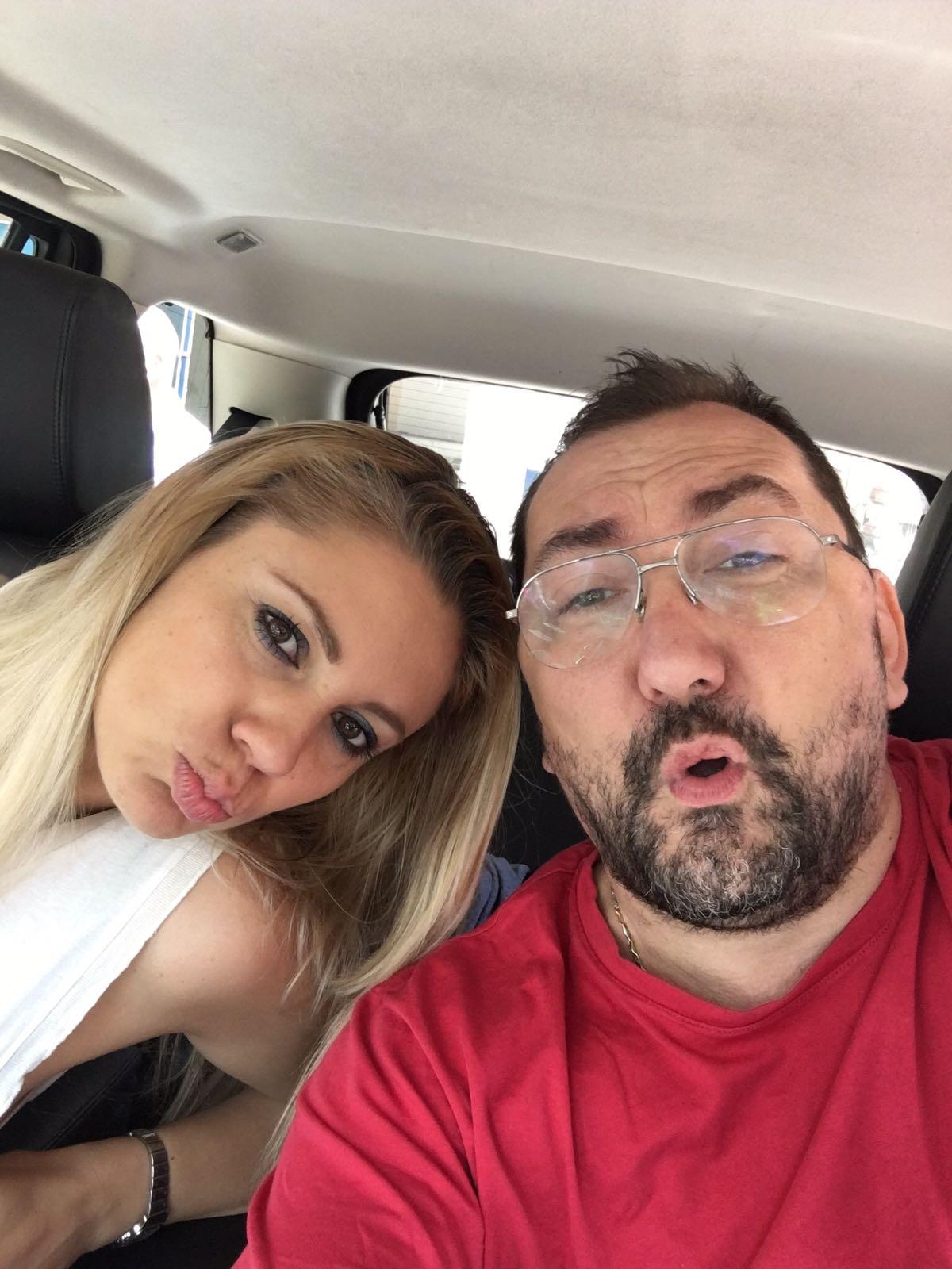 Patrycja Sliwka con il compagno avvocato Alexandro Maria Tirelli