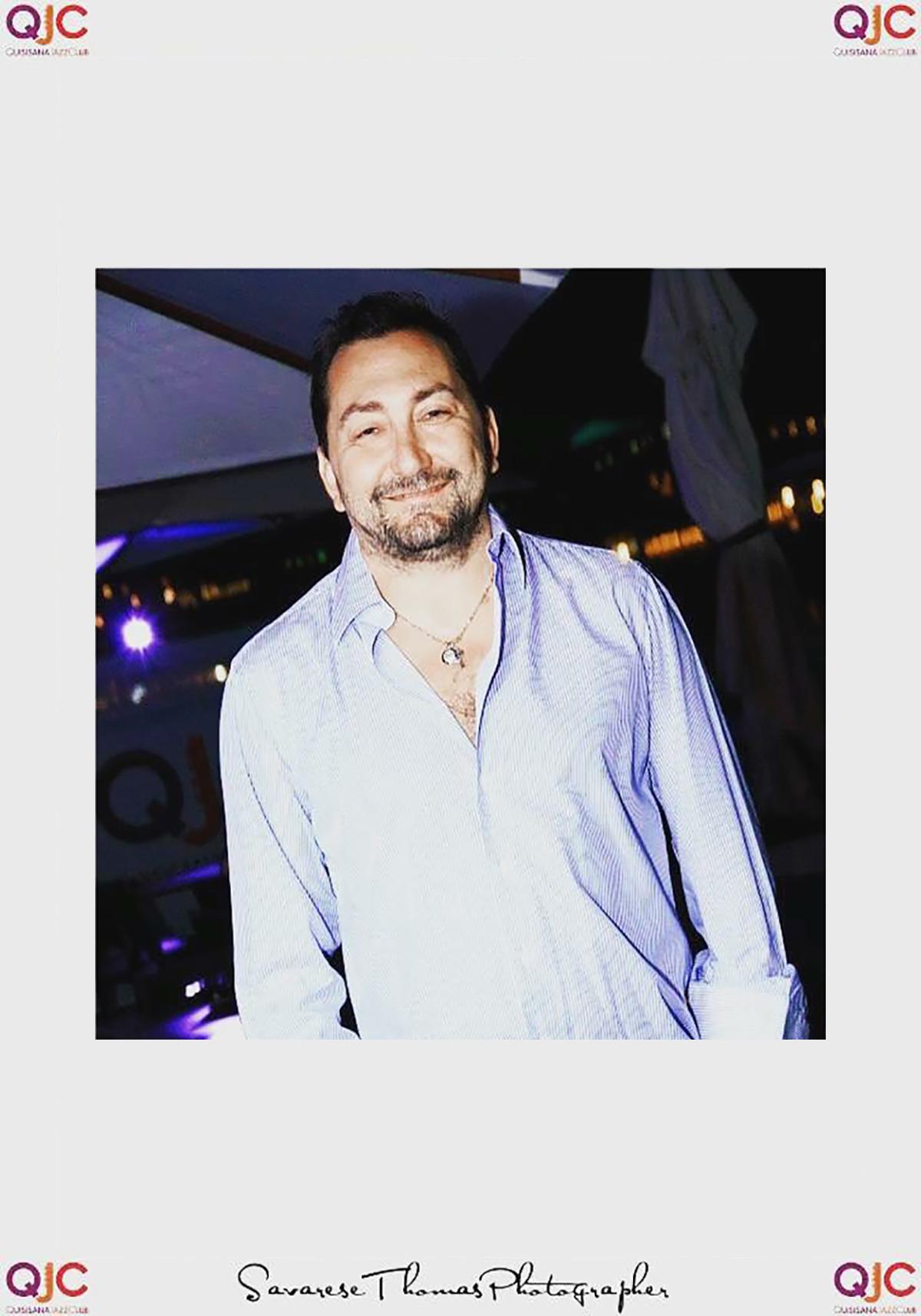 L'avvocato Alexandro Maria Tirelli fotografato al Quisisana Jazz Club in occasione di una festa di beneficenza