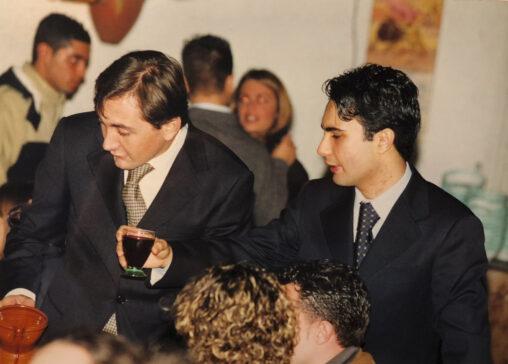 L'avvv. Tirelli e il cugino dott. Antonio Graziano